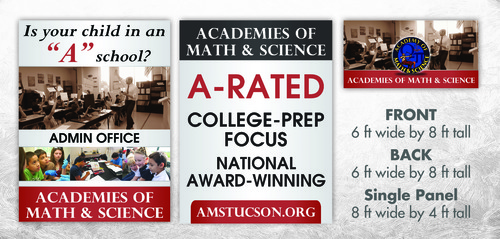 Academies of Math & Science Other Winning Design by litera