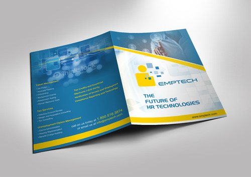 Emptech Congress Expo Brochure Marketing collateral  Draft # 7 by sevensky