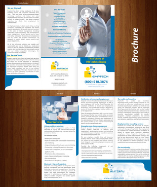 Emptech Congress Expo Brochure Marketing collateral  Draft # 9 by XtremeCreative2