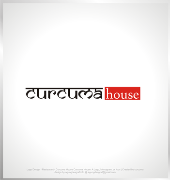 Curcuma House A Logo, Monogram, or Icon  Draft # 222 by agungdesgraf