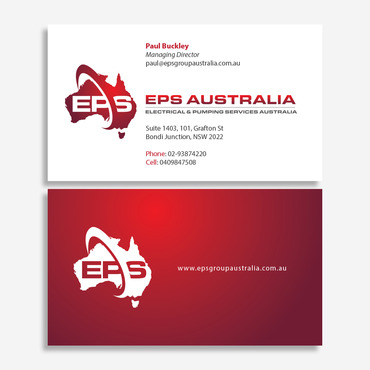 EPS Group Australia Business Cards and Stationery  Draft # 334 by vietcreative
