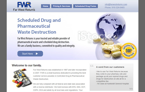 Scheduled Drug and Pharmaceutical Waste Destruction Marketing collateral  Draft # 34 by bikers