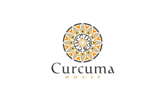Curcuma House A Logo, Monogram, or Icon  Draft # 350 by CyberGrap