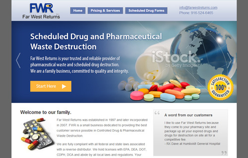 Scheduled Drug and Pharmaceutical Waste Destruction Marketing collateral  Draft # 43 by bikers