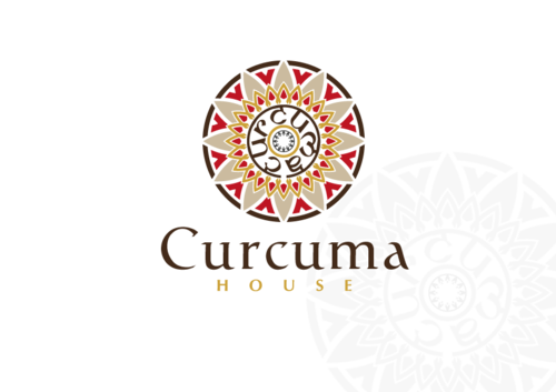 Curcuma House A Logo, Monogram, or Icon  Draft # 407 by CyberGrap