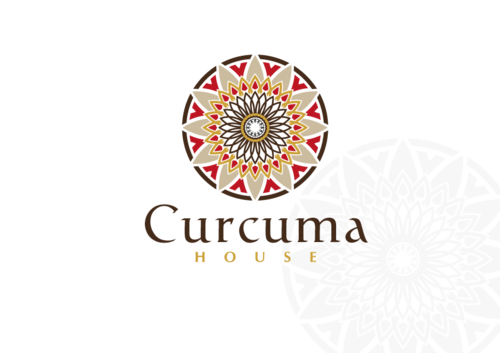 Curcuma House A Logo, Monogram, or Icon  Draft # 408 by CyberGrap