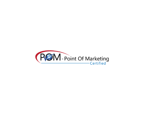 POM - Point Of Marketing A Logo, Monogram, or Icon  Draft # 34 by uniquelogo