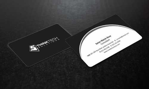 Think Tech Solutions Business Cards and Stationery  Draft # 235 by Dawson