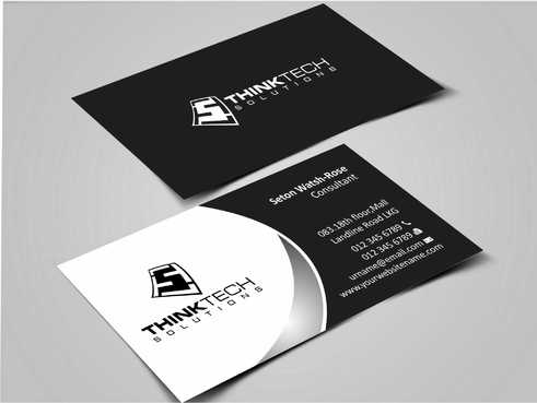 Think Tech Solutions Business Cards and Stationery  Draft # 237 by Dawson