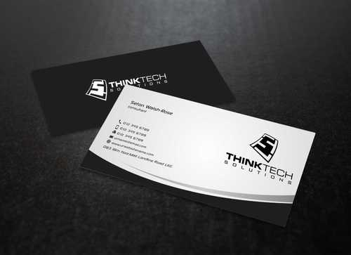 Think Tech Solutions Business Cards and Stationery  Draft # 245 by Dawson