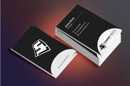 Think Tech Solutions Business Cards and Stationery  Draft # 250 by Dawson