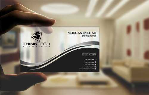 Think Tech Solutions Business Cards and Stationery  Draft # 253 by Dawson