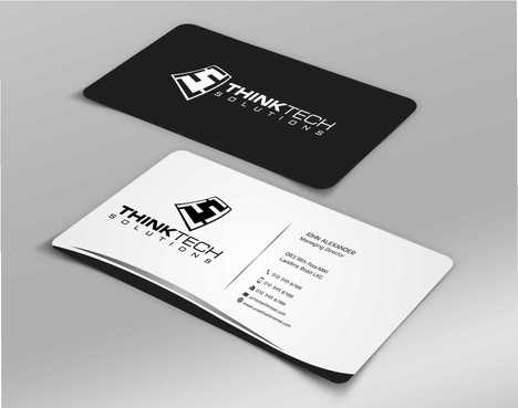 Think Tech Solutions Business Cards and Stationery  Draft # 258 by Dawson