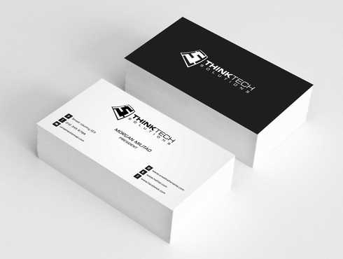 Think Tech Solutions Business Cards and Stationery  Draft # 259 by Dawson