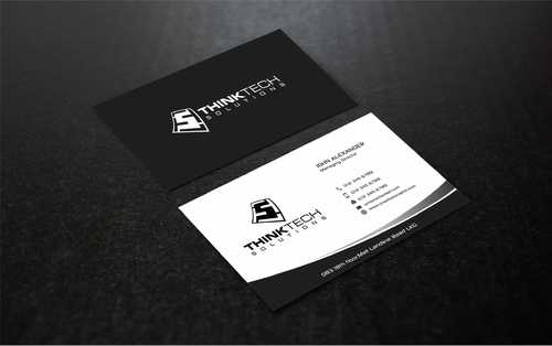 Think Tech Solutions Business Cards and Stationery  Draft # 264 by Dawson