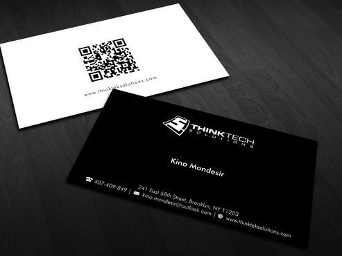 Think Tech Solutions Business Cards and Stationery Winning Design by Xpert