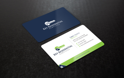 Key Residential Services Business Cards and Stationery Winning Design by einsanimation