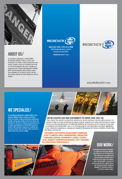 Professional marketing brochure Marketing collateral  Draft # 2 by destudio