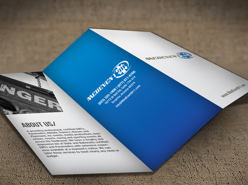 Professional marketing brochure Marketing collateral  Draft # 3 by destudio