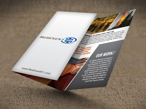 Professional marketing brochure Marketing collateral  Draft # 4 by destudio