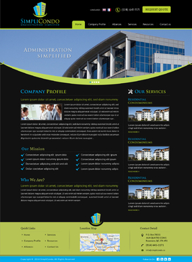 Simplicondo, Inc Complete Web Design Solution Winning Design by jogdesigner