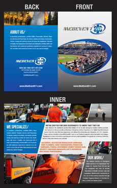 Professional marketing brochure Marketing collateral  Draft # 8 by destudio