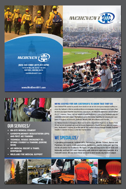 Professional marketing brochure Marketing collateral  Draft # 22 by destudio