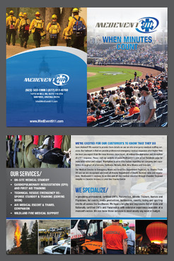 Professional marketing brochure Marketing collateral  Draft # 23 by destudio