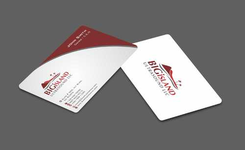 Big Island Ultrasound, LLC Business Cards and Stationery  Draft # 77 by Dawson