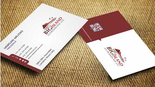 Big Island Ultrasound, LLC Business Cards and Stationery  Draft # 88 by Dawson