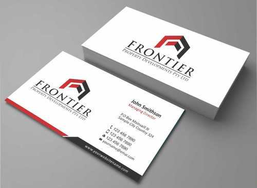 Letterhead, Business Cards, Email Signatures, Envelopes & With Compliments Slips Business Cards and Stationery  Draft # 129 by Dawson