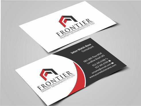 Letterhead, Business Cards, Email Signatures, Envelopes & With Compliments Slips Business Cards and Stationery  Draft # 144 by Dawson