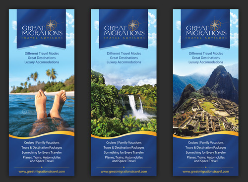 Great Migrations Travel Advisors Trade Show Banner Other  Draft # 1 by september