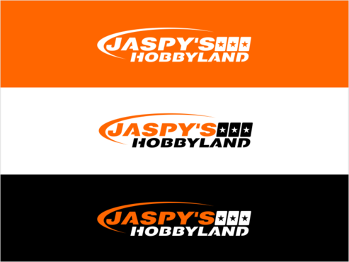 "Either ""JASPY'S HOBBYLAND"" or ""JH"" for short"