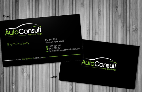 Auto Consult Business Cards and Stationery  Draft # 73 by sevensky