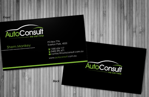 Auto Consult Business Cards and Stationery  Draft # 75 by sevensky