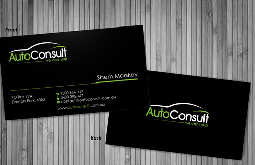 Auto Consult Business Cards and Stationery  Draft # 74 by sevensky