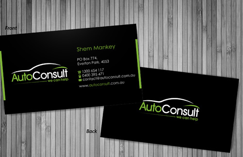 Auto Consult Business Cards and Stationery  Draft # 76 by sevensky