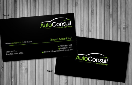 Auto Consult Business Cards and Stationery  Draft # 78 by sevensky
