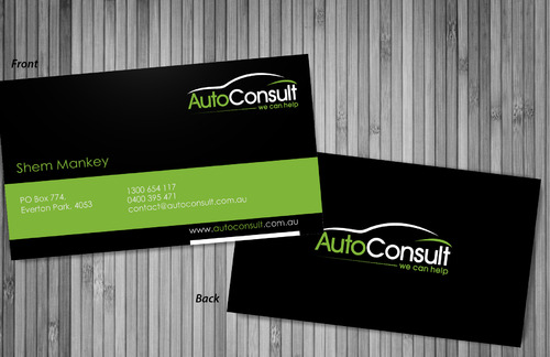 Auto Consult Business Cards and Stationery  Draft # 80 by sevensky