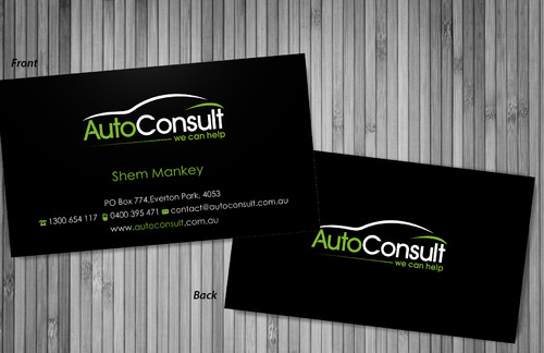 Auto Consult Business Cards and Stationery  Draft # 81 by sevensky