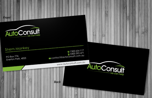Auto Consult Business Cards and Stationery  Draft # 83 by sevensky