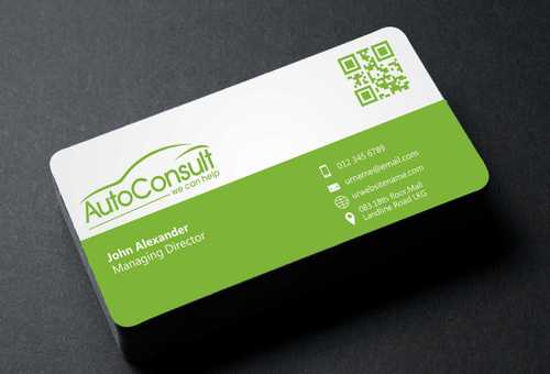 Auto Consult Business Cards and Stationery  Draft # 120 by Dawson