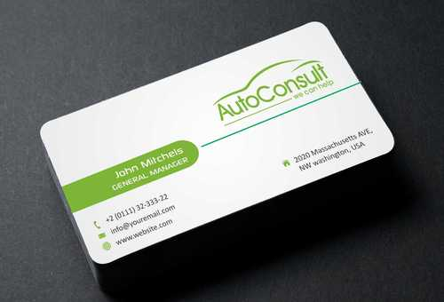 Auto Consult Business Cards and Stationery  Draft # 127 by Dawson