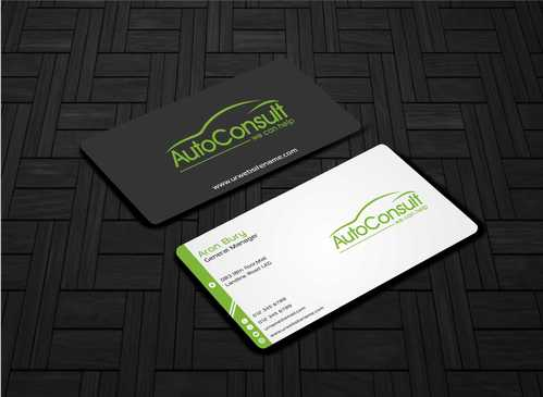Auto Consult Business Cards and Stationery  Draft # 134 by Dawson