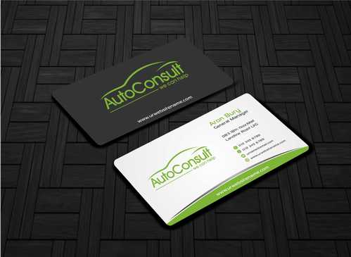 Auto Consult Business Cards and Stationery  Draft # 135 by Dawson
