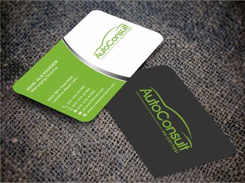 Auto Consult Business Cards and Stationery  Draft # 149 by Dawson