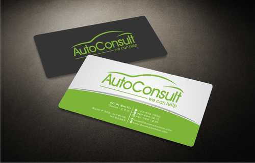 Auto Consult Business Cards and Stationery  Draft # 155 by Dawson