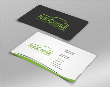 Auto Consult Business Cards and Stationery  Draft # 168 by Dawson