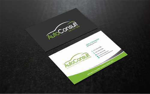Auto Consult Business Cards and Stationery  Draft # 173 by Dawson